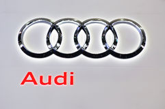 Insignia de Audi Imagen de archivo