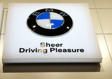 Insignia de BMW Fotografía de archivo