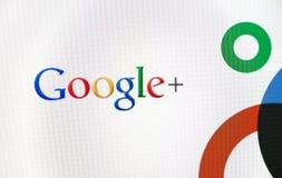 Insignia de Google+ Imagen de archivo libre de regalías