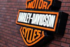 Insignia de Harley Davidson Foto de archivo libre de regalías