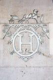 Insignia de Hermes Fotografía de archivo