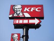 Insignia de KFC Imágenes de archivo libres de regalías
