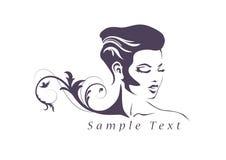 Insignia de la belleza Stock de ilustración