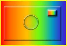 Insignia de la cámara Imagen de archivo