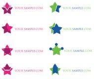 Insignia de la compañía Imagen de archivo libre de regalías