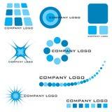 Insignia de la compañía ilustración del vector
