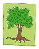 Insignia de la ecología stock de ilustración