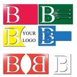 Insignia de la letra B ilustración del vector