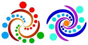 Insignia de la rotación Imagen de archivo