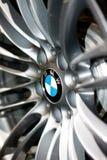 Insignia de la rueda de BMW M3 Fotografía de archivo