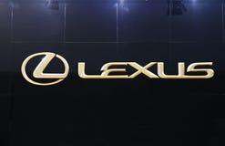 Insignia de Lexus Foto de archivo