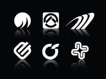 Insignia de los símbolos del vector Fotos de archivo