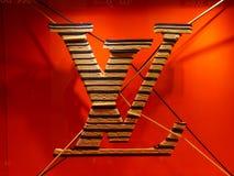 Insignia de Louis Vuitton Imágenes de archivo libres de regalías