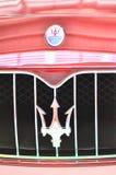 Insignia de Maserati Fotos de archivo libres de regalías