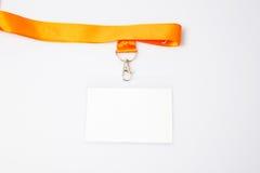 Insignia de nombre imagen de archivo libre de regalías