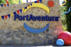 Insignia de PortAventura Fotografía de archivo