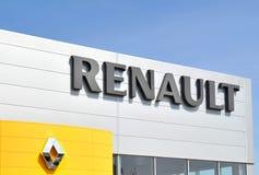Insignia de Renault fotografía de archivo