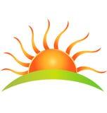 Insignia de Sun ilustración del vector