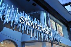 Insignia de Swarovski Fotografía de archivo