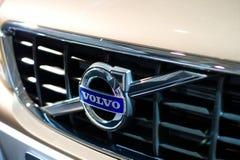 Insignia de Volvo Foto de archivo libre de regalías