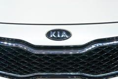 Insignia del automóvil de KIA Foto de archivo