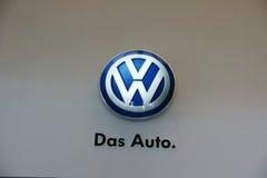 Insignia del automóvil del Das Imagenes de archivo