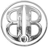 Insignia del BB imagenes de archivo