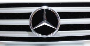 Insignia del Benz de Mercedes Foto de archivo