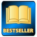 Insignia del bestseller ilustración del vector