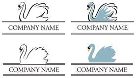 Insignia del cisne libre illustration
