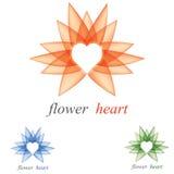 Insignia del corazón ilustración del vector