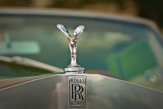 Insignia del embem de Rolls Royce Fotos de archivo