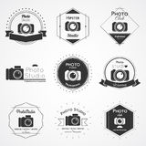 Insignia del logotipo de la cámara Foto de archivo