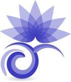 Insignia del loto Imagen de archivo