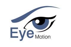 Insignia del movimiento del ojo Fotos de archivo libres de regalías