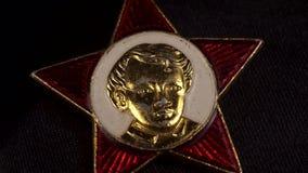 Insignia del Octobrist, símbolos soviéticos, pioneros metrajes