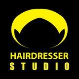 Insignia del peluquero Foto de archivo libre de regalías