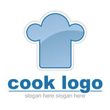 Insignia del sombrero del cocinero ilustración del vector