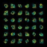 Insignia del vector Imagenes de archivo
