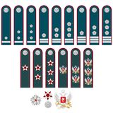 Insignia of the Federal Tax Service of Russia Stock Photo