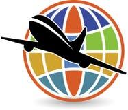 Insignia global ilustración del vector