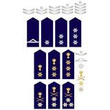 Insignia of the Greek Police Royalty Free Stock Photo