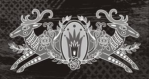Insignia illustration Royalty Free Stock Photo