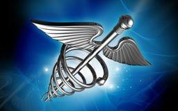 Insignia médica Foto de archivo libre de regalías