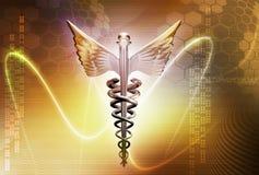 Insignia médica Imagen de archivo libre de regalías
