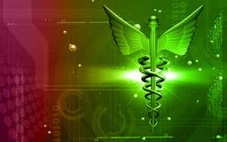 Insignia médica Fotografía de archivo libre de regalías