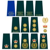 Insignia Medical Service of Great Britain Stock Image