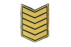 Insignia of military rank Royalty Free Stock Photography