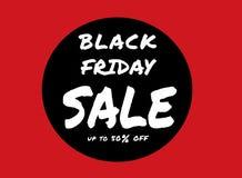 Insignia negra del vector de viernes Estilo escrito disponible del cartel negro de viernes libre illustration