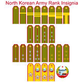 Insignia of the North Korean army Royalty Free Stock Images